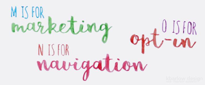 ABCs of Business: Marketing, Navigation, Opt-ins