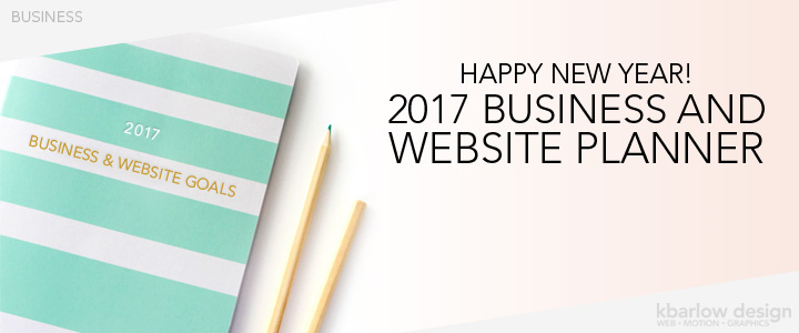 FREE 2017 Website & Business Planner!