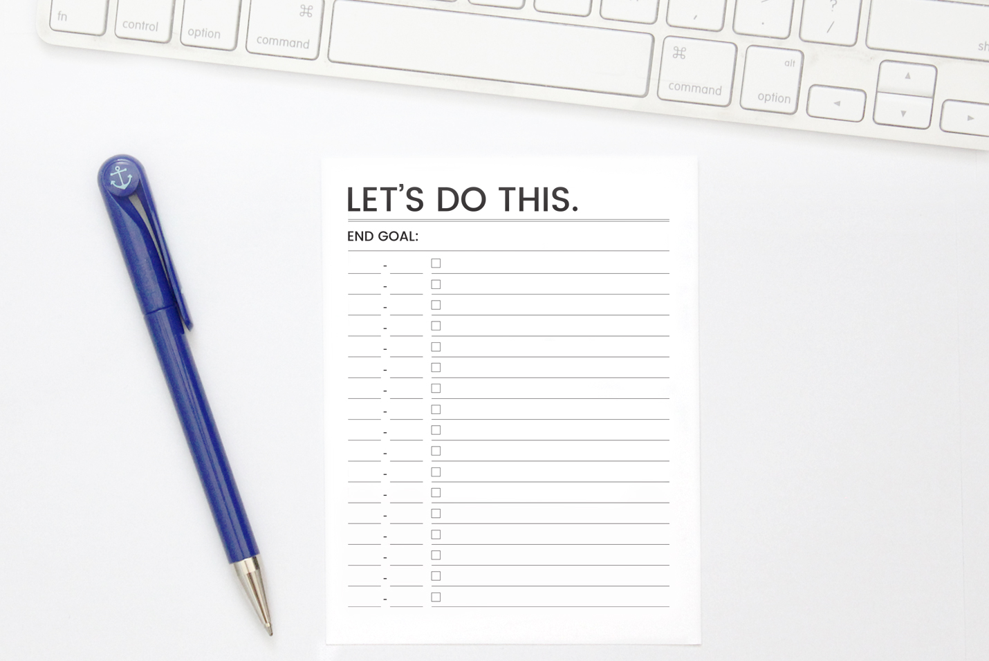 Let's Do This. - Productivity Planners | kbarlowdesign.com