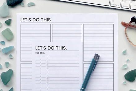 Bundle - Let's Do This - Productivity Planners | kbarlowdesign.com