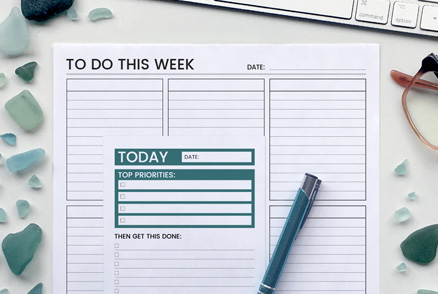 Bundle - Weekly/To Do - Productivity Planners | kbarlowdesign.com
