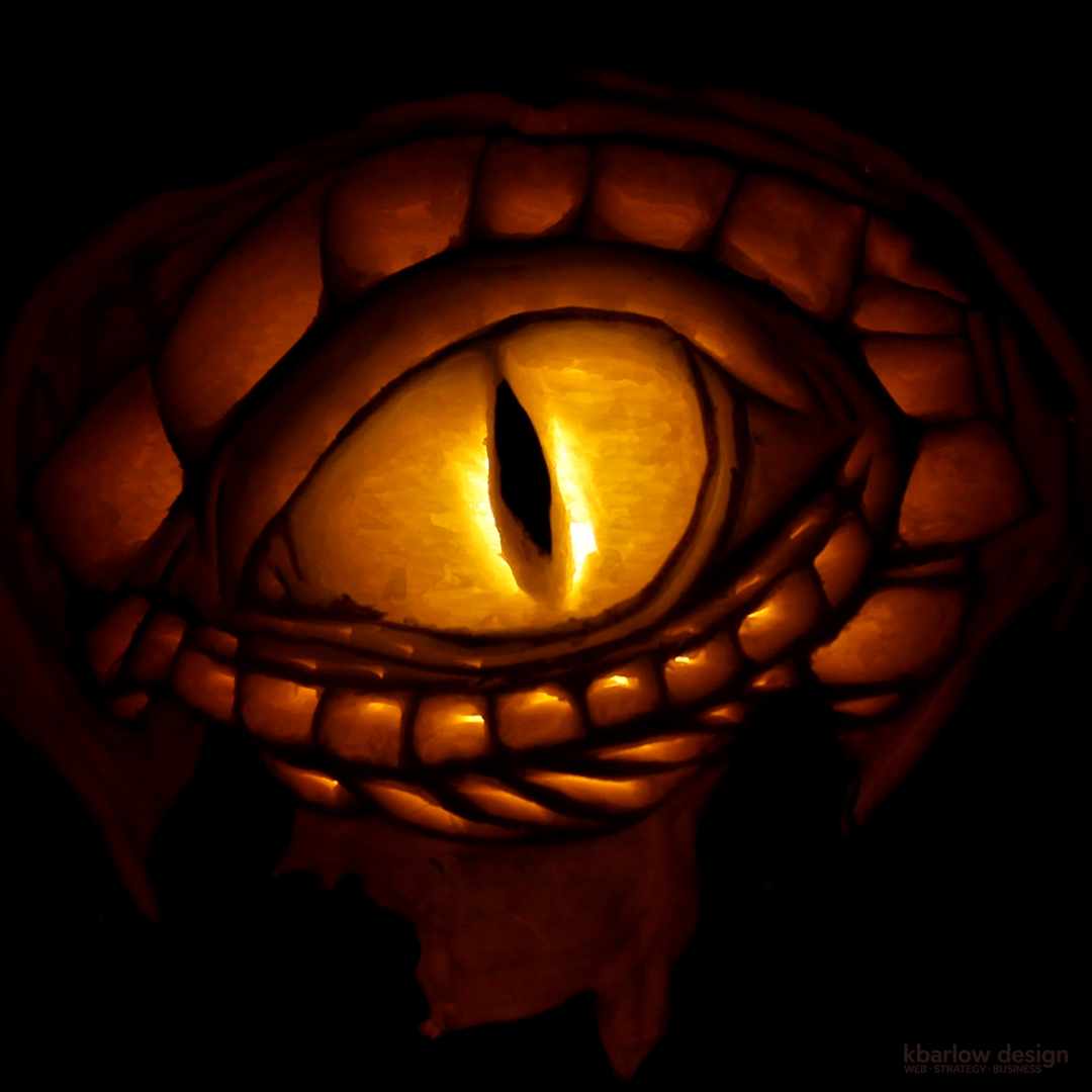 dragon eye pumpkin